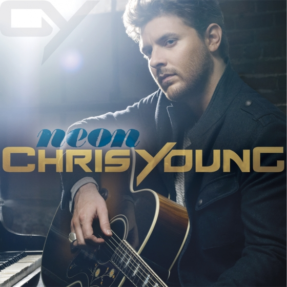 Chris Young Neon Album Cover - CountryMusicRocks.net