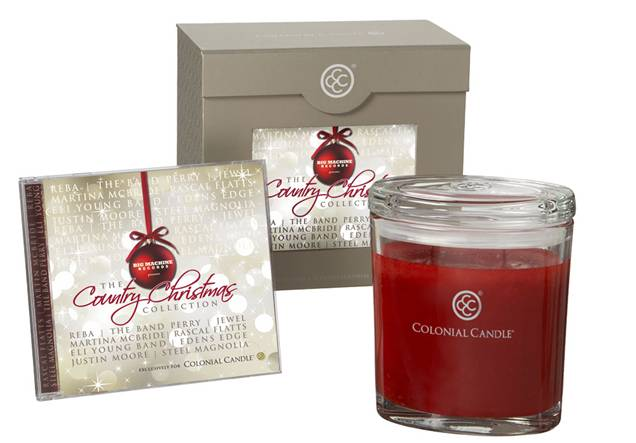 Big Machine Colonial Candle Holiday Gift Set - CountryMusicRocks.net