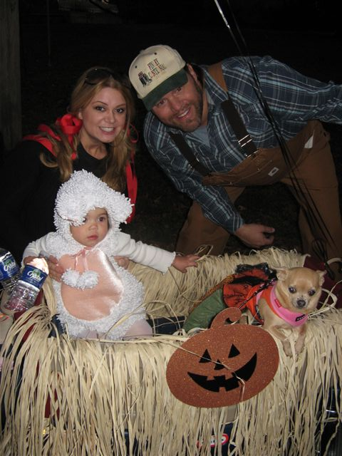 James Otto Celebrates Halloween With Mary His Little Lamb