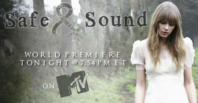Taylor Swift Safe & Sound Hunger Games - CountryMusicRocks.net