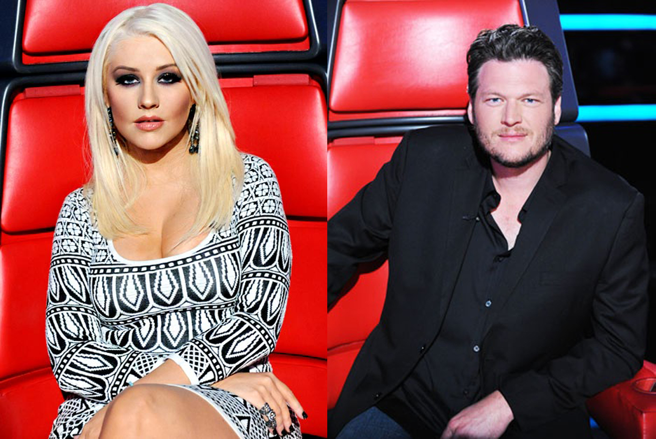 Christina Aguilera Wants To Team Up For A Country Duet With Blake