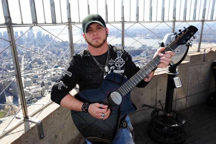 Brantley Gilbert Performs At Empire State Building
