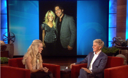 Carrie Underwood On Ellen - CountryMusicRocks.net