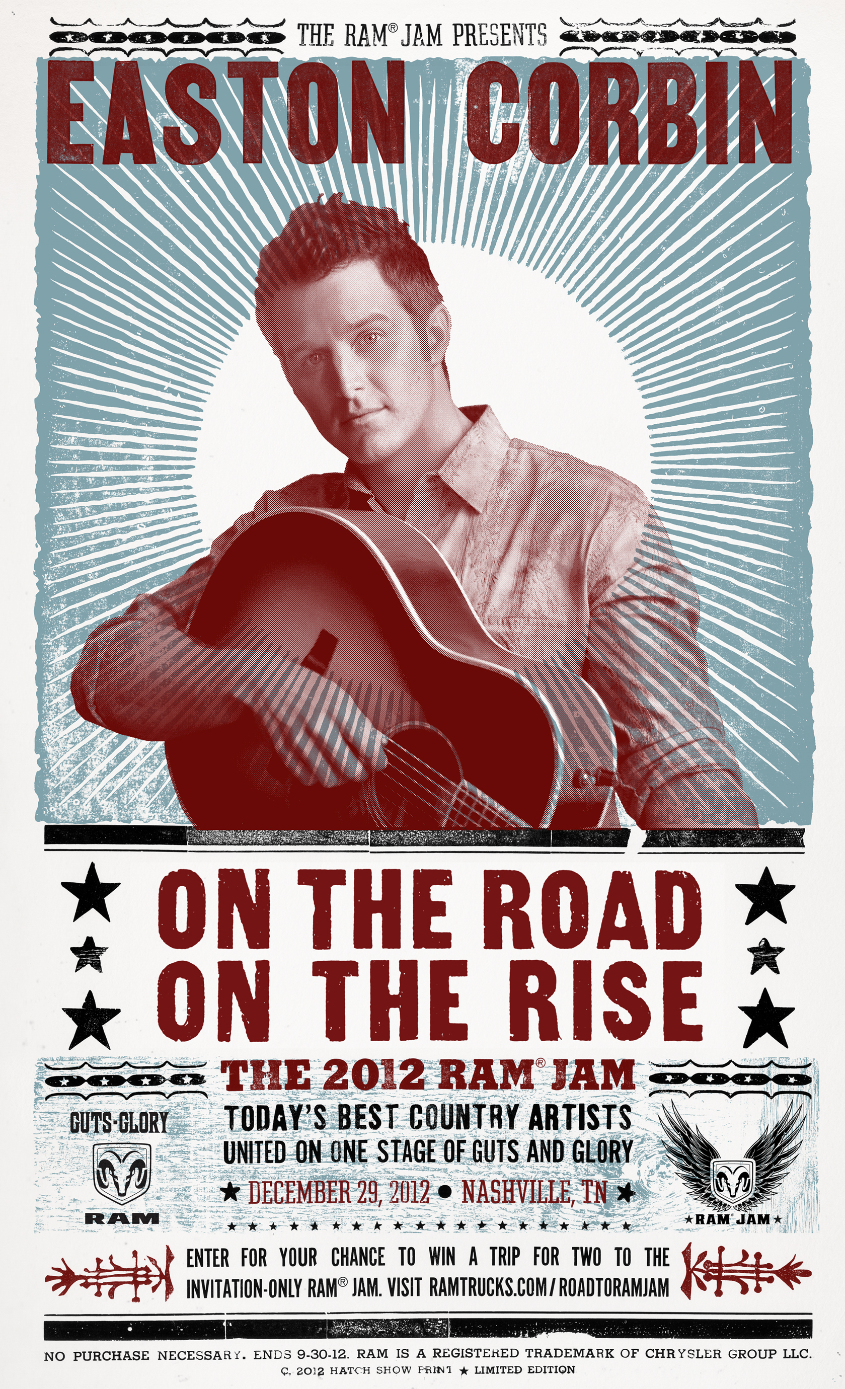 Contest Enter To Win An Easton Corbin Ram Jam Prize Pack