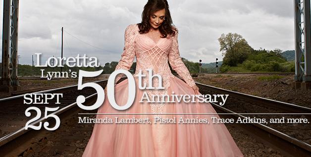 Loretta Lynn Opry 50th Anniversary - CountryMusicRocks.net
