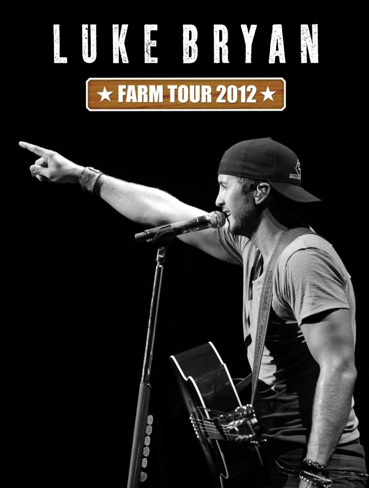 Luke Bryan Farm Tour 2012 - CountryMusicRocks.net