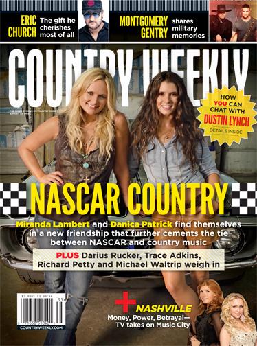 Miranda Lambert And Danica Patrick Sport The Cover Of