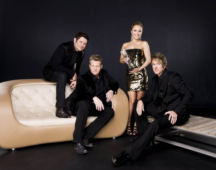 Rascal Flatts Hayden Panettiere CMT Artists of the Year - CountryMusicRocks.net