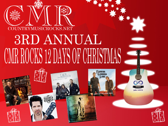 Blake Shelton Cheers Its Christmas.Countrymusicrocks 12 Days Of Christmas Contest Day 9