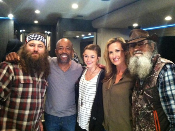 Darius Rucker With Duck Dynasty - CountryMusicRocks.net