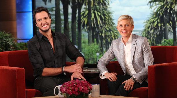 Luke bryan performs buzzkill on the ellen degeneres show country music rocks - Ellen show address ...