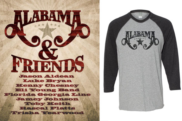 Alabama-&-Friends-Tshirt-Poster-Prize-Pack---CountryMusicRocks.net