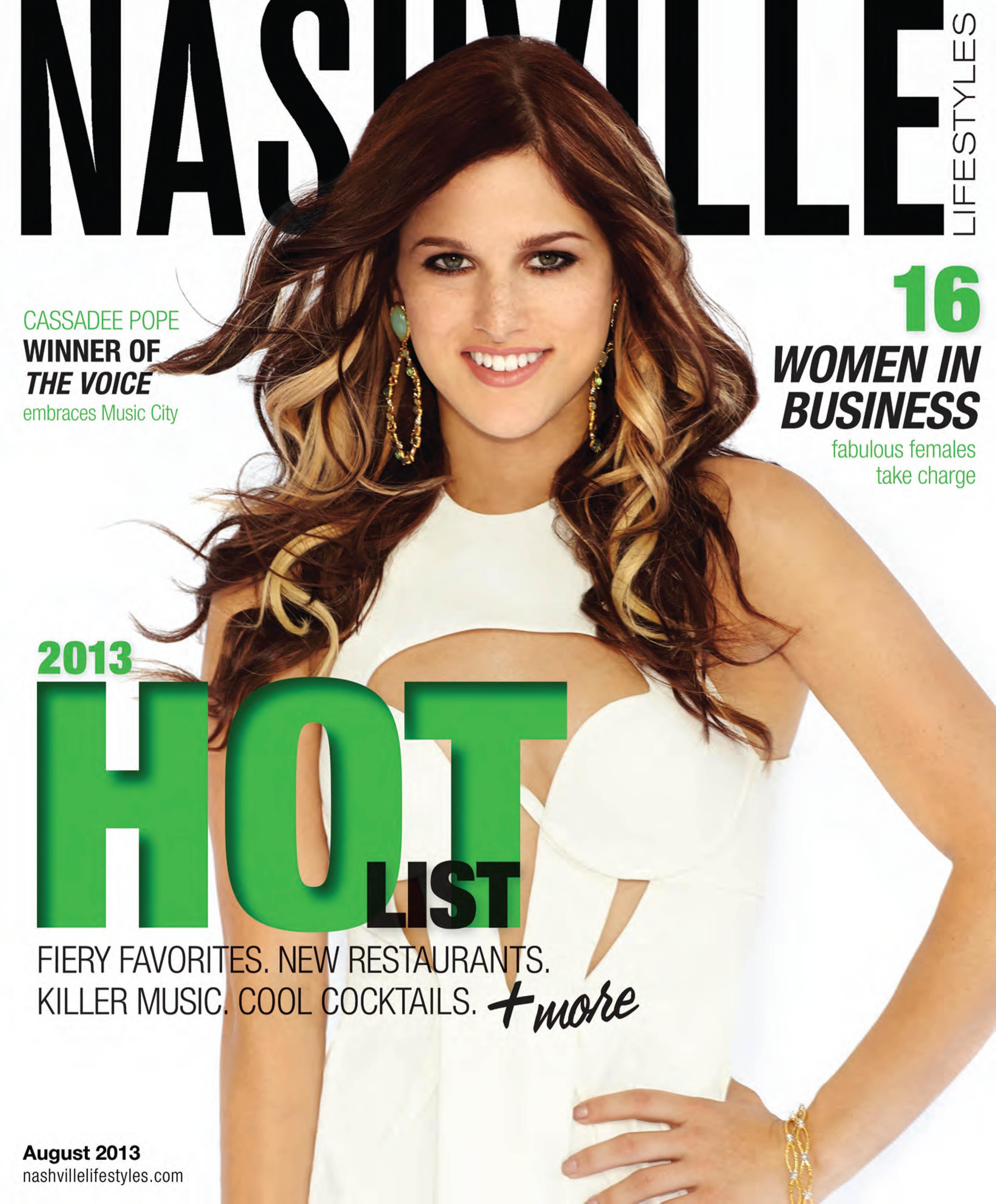 Cassadee Pope Covers Nashville Lifestyles Magazine Country Music Rocks