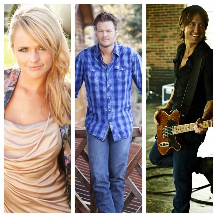Miranda Lambert Blake Shelton Keith Urban - CountryMusicRocks.net