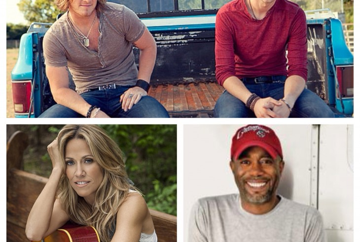 Sheryl Crow Darius Rucker Florida Georgia Line - CountryMusicRocks.net