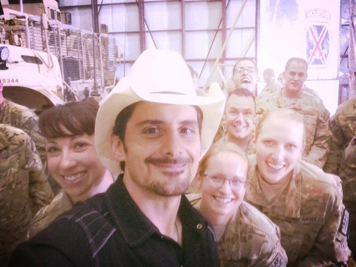 photo via Brad Paisley's facebook page