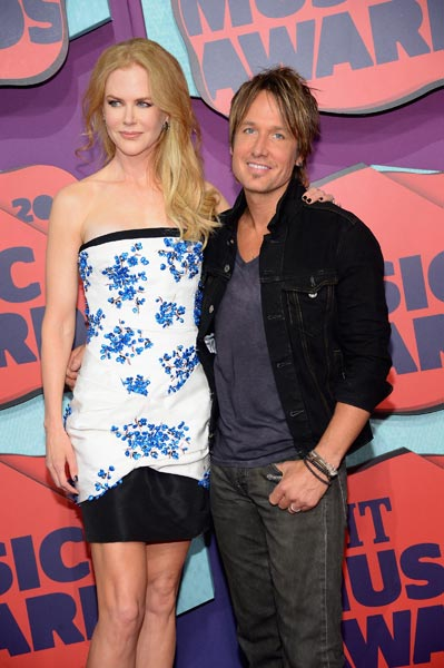 Keith Urban Nicole Kidman Photo Credit- Michael Loccisano Getty Images - CountryMusicRocks.net