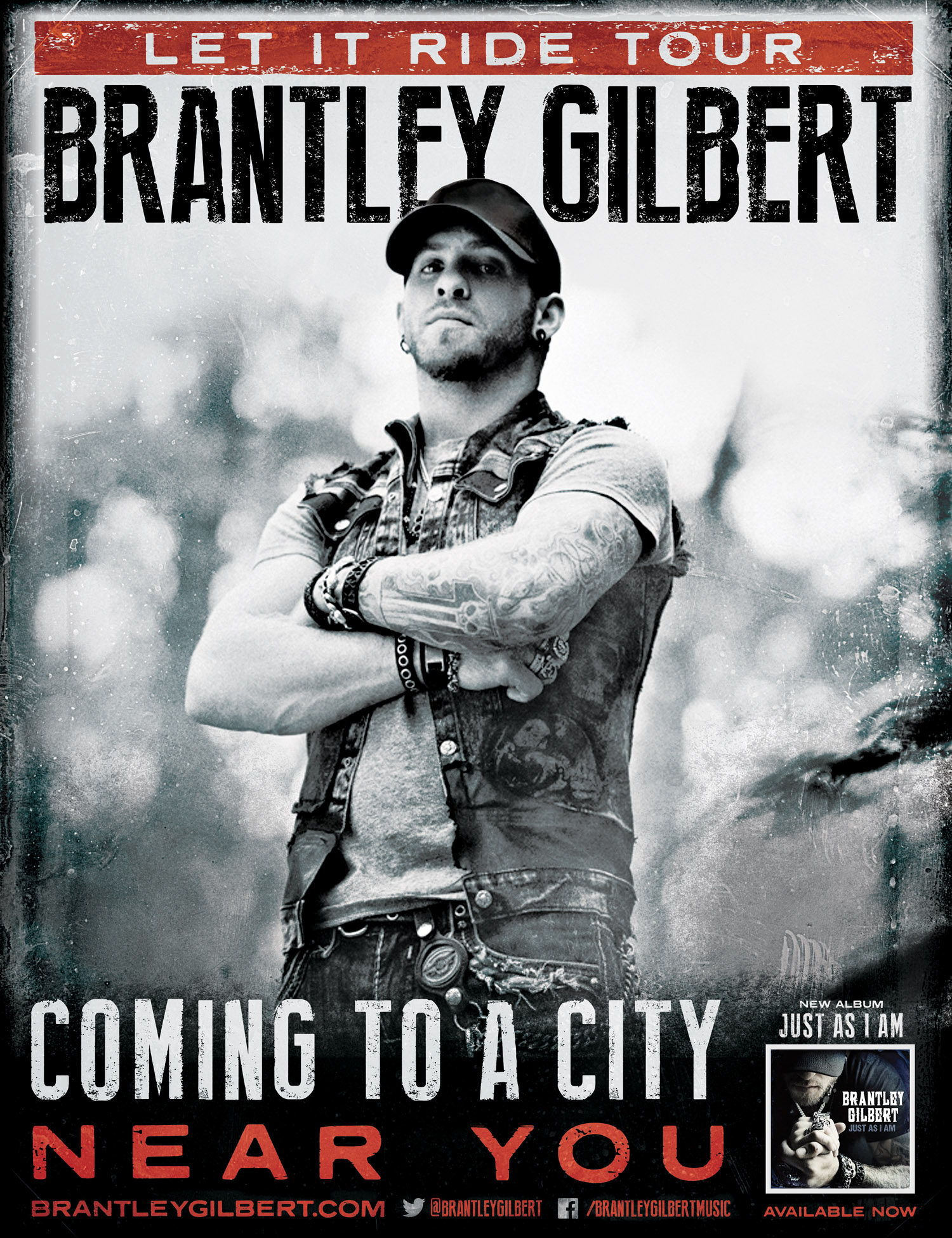Brantley Gilbert's JUST AS I AM Certified Gold, Announces ...