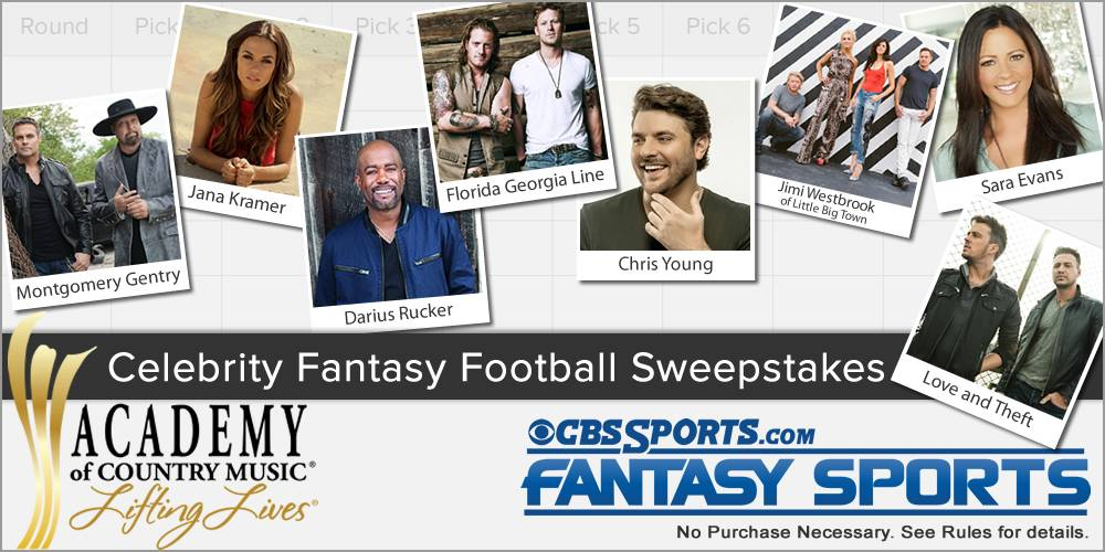 ACM CBSSports Fantasty Football - CountryMusicRocks.net