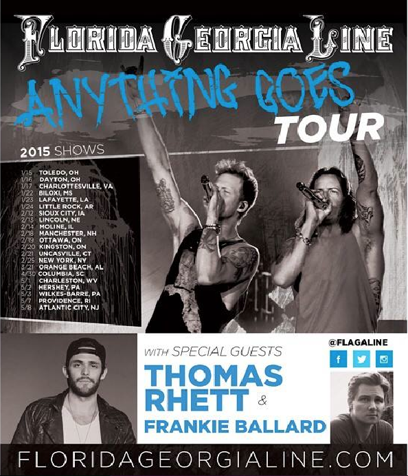 Florida georgia line concert dates in Melbourne