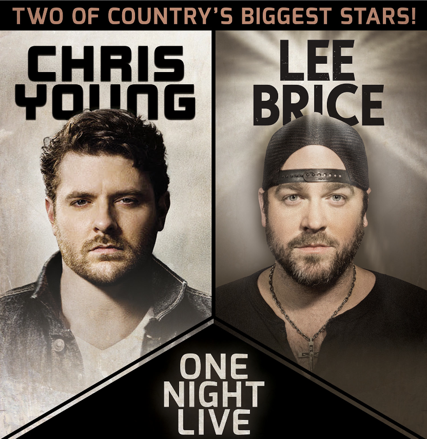Chris Young Lee Brice One Night Live Tour - CountryMusicRocks.net