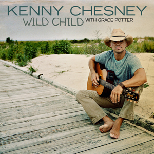"Kenny Chesney Releases New Single ""Wild Child"" feat. Grace Potter to Country Radio"
