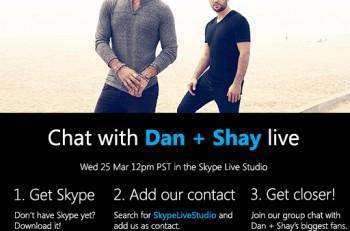 Dan + Shay Skype Live Studio - CountryMusicRocks.net