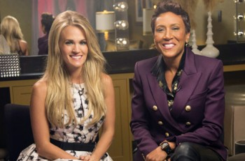 Robin Roberts Carrie Underwood Countdown to the CMA Awards - CountryMusicRocks.net