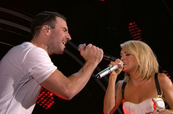 Sam-Hunt-Carrie-Underwood-Grammy-Duet---CountryMusicRocks.net