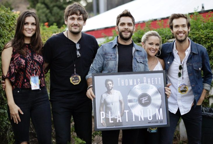 Thomas Rhett Tangled Up Platinum Certification