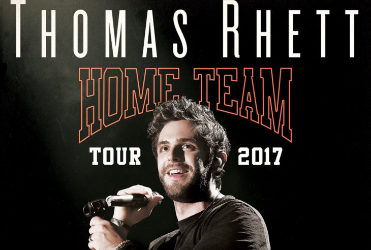 Thomas Rhett Home Team Tour
