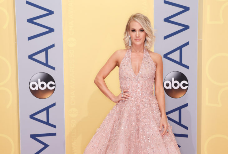 Carrie Underwood 50th Annual CMA Awards