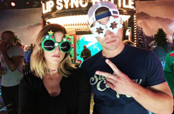 Cassadee Pope and Dustin Lynch Lip Sync Battle