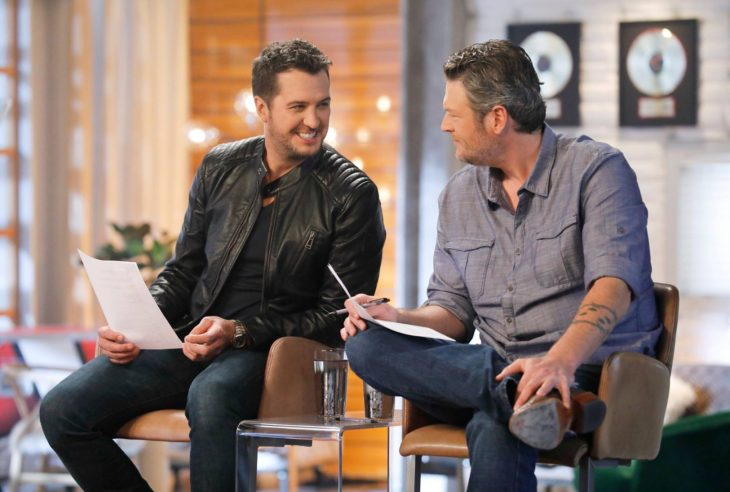 Luke Bryan Blake Shelton The Voice