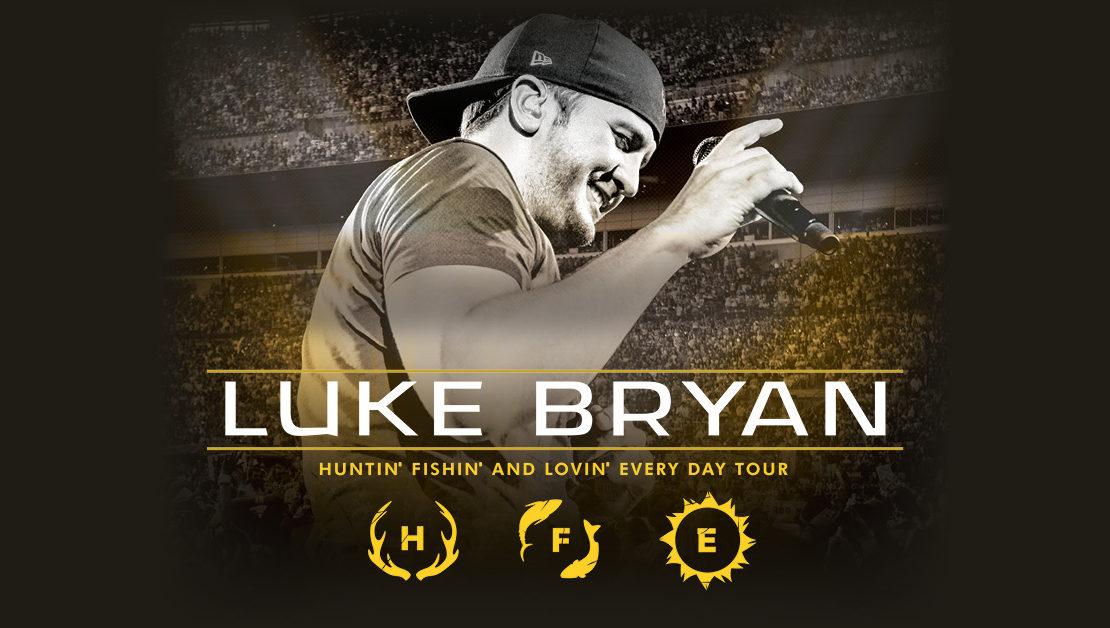Luke Bryan HFLE Tour