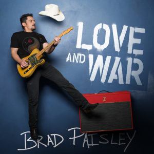 Brad Paisley Love And War Album