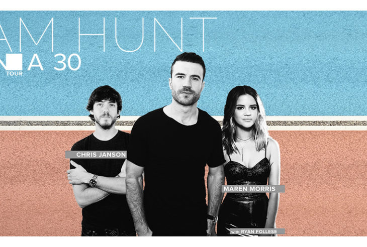 Sam Hunt Tour