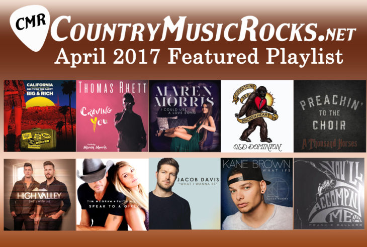 CMR Featured Playlist April