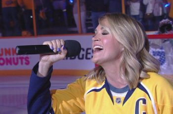 Carrie Underwood Nashville Predators