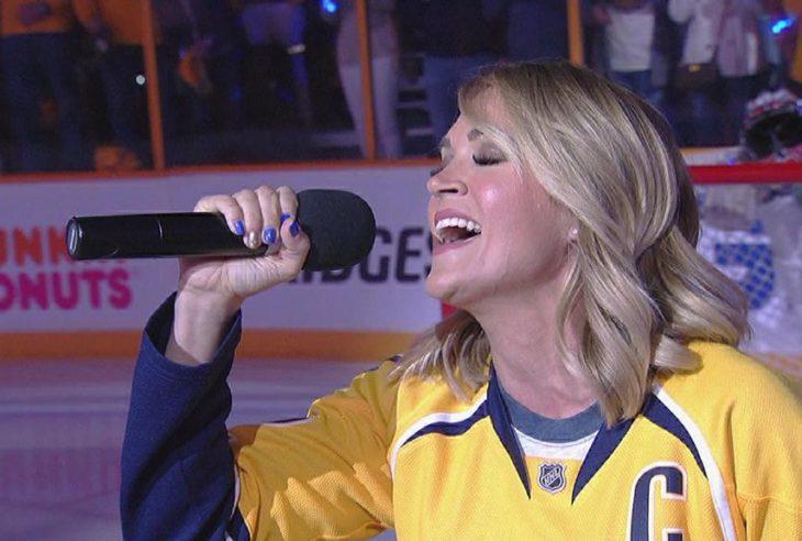 Carrie Underwood Nashville Predators