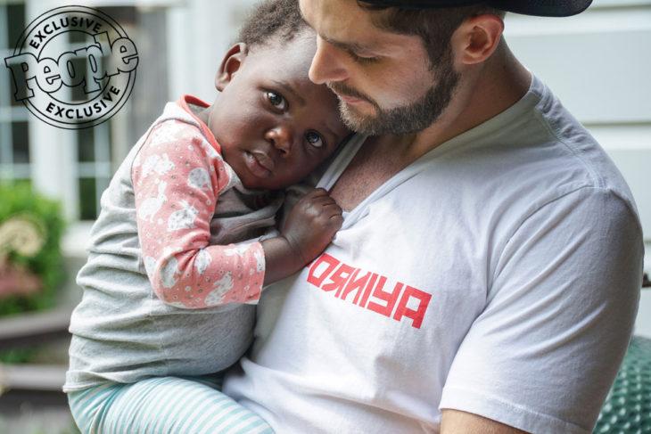 Thomas Rhett with Daughter Willa