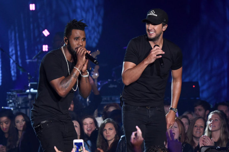 Luke Bryan and Jason Derulo CMT