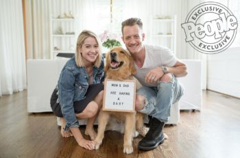 Tyler Hubbard and Wife Baby Announcement