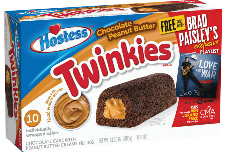 Brad Paisley Hostess Twinkies
