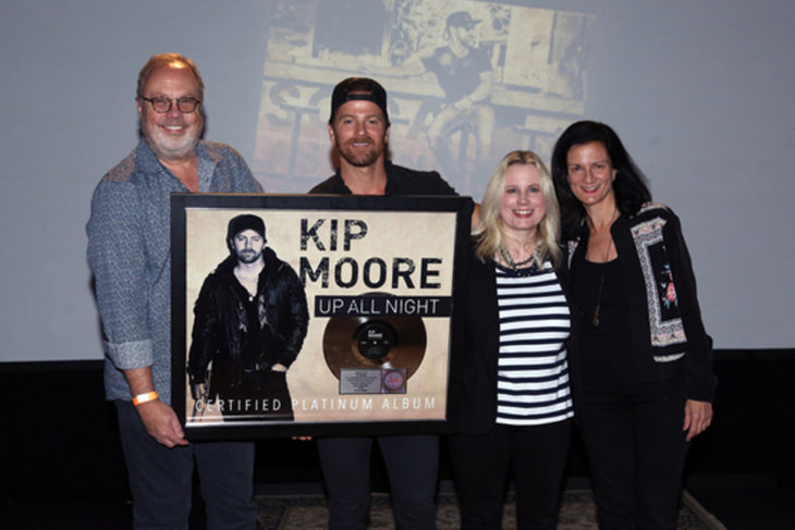 Kip Moore RIAA Certification