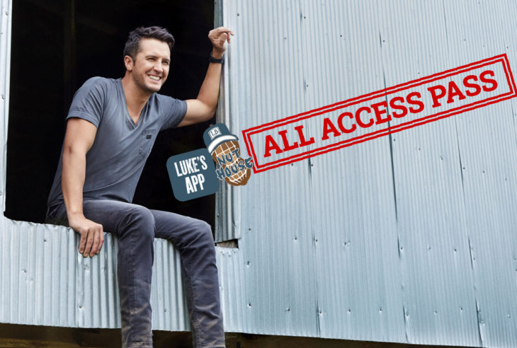 Luke Bryan App All Access Pass