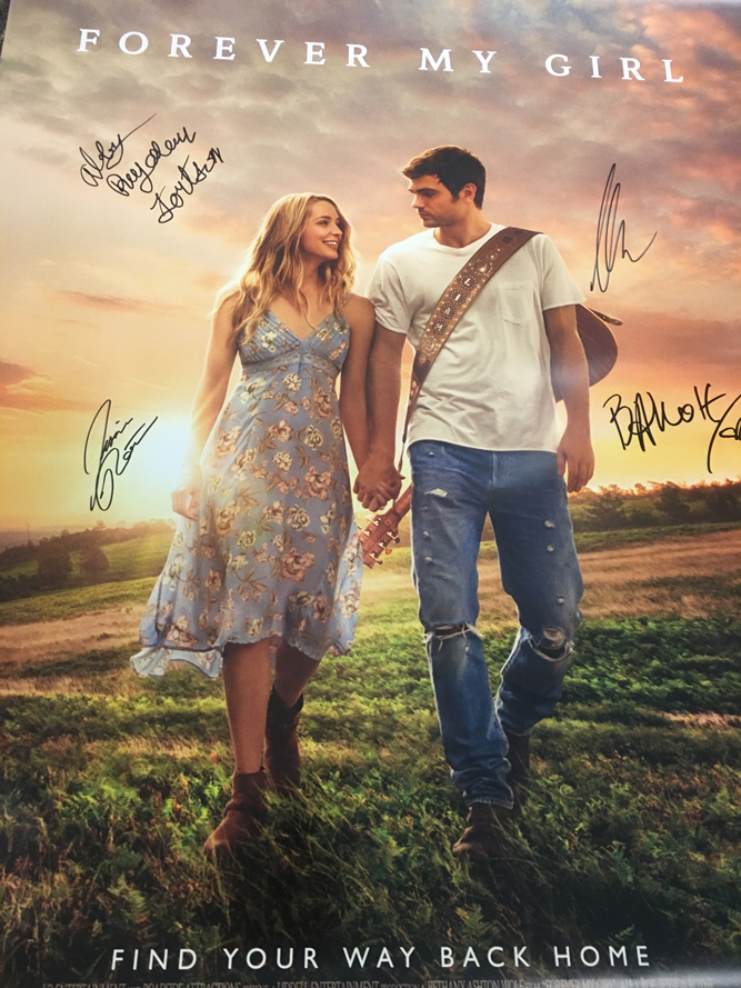 Win an Autographed Forever My Girl Movie Poster | Country ...