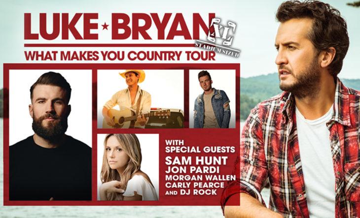 Luke Bryan Adds Stadium Concerts To Tour | Country Music Rocks